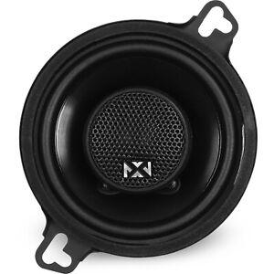 """NVX NSP35 3.5"""" N-Series Coaxial Car Stereo Speakers Silk Dome Tweeters"""