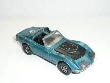 "Corgi Toys 387 Chevrolet Corvette Stingray Coupe ""w/ruby rear lights"" *Original*"