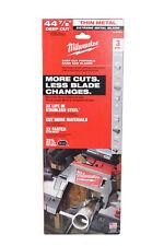 Milwaukee 48 39 0611 44 78 Bandsaw Blades Extreme Metal Deep Cut 1214 Tpi 3pk
