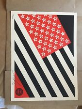 Obey Giant Shepard Fairey Mayday Flag