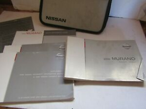 06 Nissan Murano Owners Manual Set for Sale! Free Shipping
