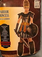 Warrior Princess Halloween Costume Junior Size Large 11-13