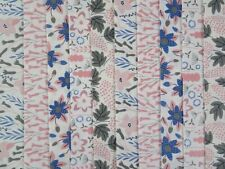 20 JELLY ROLL STRIPS COTTON PATCHWORK FABRIC 22 INCH LONG - PINK LAGOON
