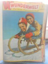 Wunderwelt Die bunte Jugendillustrierte Jahrgang1962 gebunden
