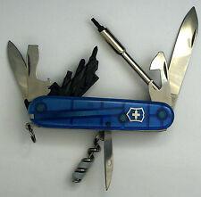 Victorinox Cybertool 29 Swiss Army knife (sapphire)- new, retired color #3015
