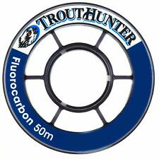 Trouthunter 40M Spool Fluorocarbon Tippet In Size 2X - 10.4Lb Tensile Strength