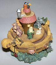 """Beautiful Noah's Ark Musical Box / Carousel that Plays """"It's a Small World"""""""