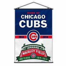Chicago Cubs Wrigley Field 100 Years Wall Banner-4753