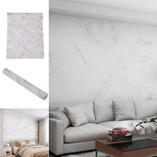 UK 10M Adhesive Wallpapr Paper Wall Self Roll Granite Marble Effect Contact Home