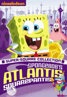 Spongebob's Atlantis Squarepantis (DVD,2007)