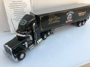 MATCHBOX COLLECTIBLES 1/58 KENWORTH TRACTOR TRAILER JACK DANIELS OLD NO.7>RARE