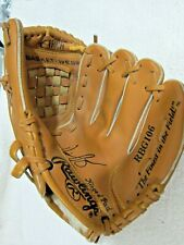 "Rawlings Baseball Glove Youth 10"" Cal Ripkin Jr. Tan Leather Right Handed Player"