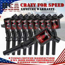 10Pcs Ignition Coil For Ford F150 Expedition 5.4L 6.8L DG508 2000 2001 2002-2004