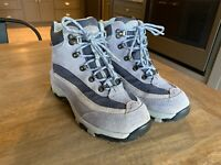 LL Bean Hiking Boots Waterproof PrimaLoft Suede Ankle Tek 2.5 Outdoor Lace Up 6