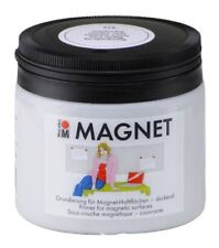 Marabu Magnetfarbe Colour your dreams grau 475ml Magnetputz Farbe magnetisch