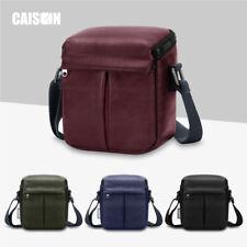 PU Leather Camera Case Shoulder Bag For Canon PowerShot G5 X / SX540 SX530 HS