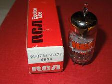RCA 6bq7 /6bq7a / 6bz7 /6bs8  New NOS Tube Red box Tests new