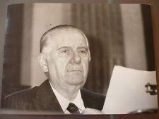 PHOTO DE PRESSE ALAIN POHER  1981