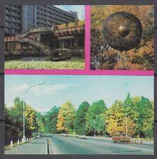 USSR 1977 Matchbox Label - Cat.355S matt, text, in gold  JŪRMALA - three views