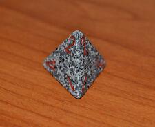 chessex dadi dado dice d4 - 4 facce - grigio/nero - risiko - monopoli -  mtg