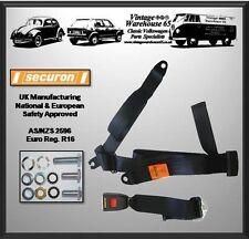 VOLKSWAGEN en Pantalla Dividida Camper Kombi T1 T2 Trasero 3 Punto Kit De Cinturón de seguridad estática