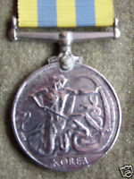BRITISH & COMMONWEALTH FORCES KOREA MEDAL AND FREE U.N KOREA MEDAL