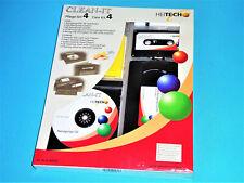 Reinigungsset Clean-It v.HEITECH | VHS Audio MC Reinigungscassette | CD DVD Disk