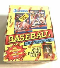 1991 Donruss Baseball of Collector Cards Series 1 Factory
