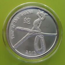 Silver 2013 YEAR OF SNAKE ROUND - Provident Metals