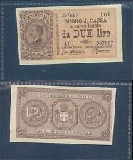 VITTORIO EMANUELE III 2 LIRE  DEC.16/11/1922 F.D.S. R@RO  A.