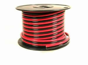 Powerwerx 25ft Spool AWG 8 Red and Black Zip Cord