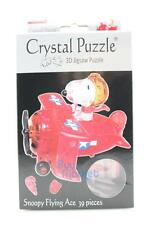 3D DIY Crystal Puzzle Jigsaw 39 pieces Toy Model Decoration- Snoopy Flying Ace