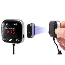 1x Handsfree LCD MP3 Player FM Transmitter Wireless Bluetooth 4.0 Car Kit USB CW
