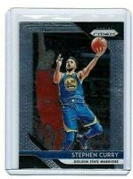 STEPHEN CURRY PANINI PRIZM   GOLDEN STATE WARRIORS  2018-2019  #222