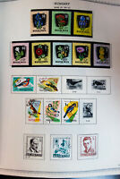 Hungary Loaded Stamp Collection in Variety Album 1961 to 1980