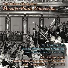 Paul Badura-Skoda Plays Mozart: Pianos Concertos Nos. 22 & 25, New Music