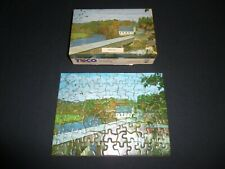 Tuco Miniature Picture Puzzle Vintage Bath N.H.  New Hampshire Used Complete