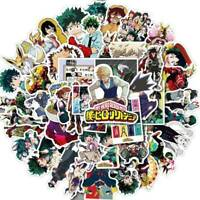 50Pc My Hero Academia Stickers Anime Boku No Hero for Suitcase Laptop Car  Top