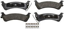 Disc Brake Pad Set-ProSolution Ceramic Brake Pads Rear Monroe GX666