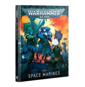 Warhammer 40k Codex: Space Marines 9th Edition -->New in Shrinkwrap<--