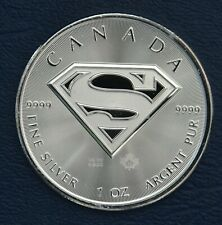 2016 Superman -- 1 oz silver coin from Canada