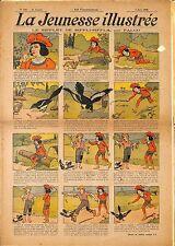 """ LA JEUNESSE ILLUSTREE "" PERIODIQUE BENJAMIN RABIER FALCO LUC LEGUEY 1908"