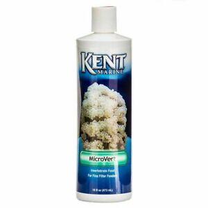 Kent Marine MicroVert Invertebrate Food for Filter Feeders 16oz. (Exp. 04/22)