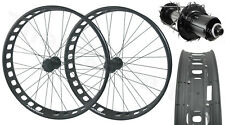 Alex Blizzerk 90 Tubeless 150mm Thru-Axle Front 190mm QR Rear Fat Bike Wheelset