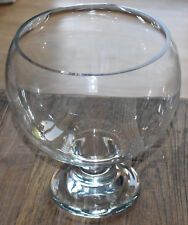 Riihimäen Lasi Oy glass Bowl Old King Cole 1226 70s Vintage Finland