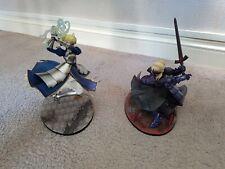 Saber Triumphant Excalibur & Saber Alter Vortigen anime figures