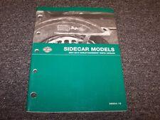 2007 2008 2009 2010 Harley Davidson Sidecar Models Factory Parts Catalog Manual