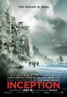 Inception Movie POSTER 27 x 40 Leonardo DiCaprio, Ken Watanabe, H