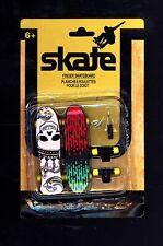 SKATE Finger Skateboards Brand New Sealed with Extra Wheels