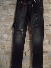 ENERGIE GOLD LIMITED EDITION VERY RARE MEN'S LOW-RISE SKINNY JEANS ITALY SIZE 28